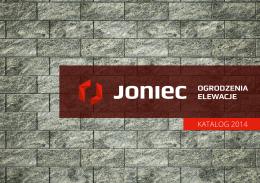 Katalog produktów Joniec 2014