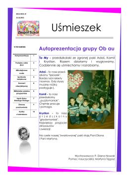 uśmieszek - grudzień 2013