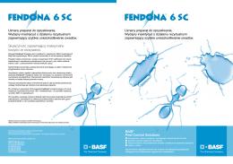 Fendona ® 6 SC - BASF Pest Control Solutions Polska