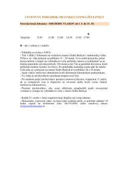 Cestovný poriadok OLŽ (PDF)