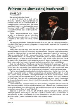 jún 2014 (príloha o konferencii ČSÚ)