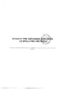 STANOVY OZ Adobe Reader / PDF