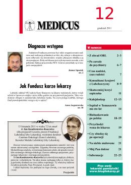 Do: Prokurator Okręgowy Warszawa Rogatko 4 grudzień 2014 Do