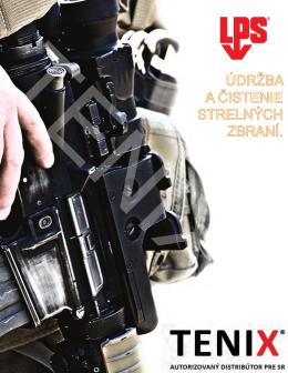 LPS čistenie a údržba zbraní