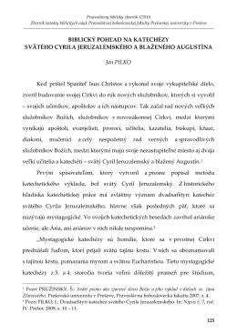 blaženého Augustína