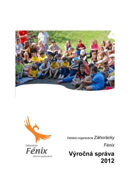 Výročná správa 2012 - DO Záhorácky Fénix