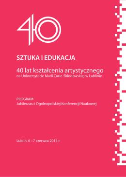 programme - Muzeum Sztuki w Łodzi