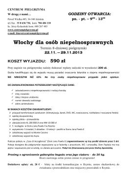 99-400 Łowicz, Stary Rynek 20 tel./fax (+48) 46 837 35 21 e