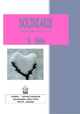 3.číslo Doliniarik _13-14 - Liečebno
