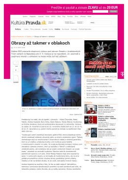 Pravda.sk - ego gallery