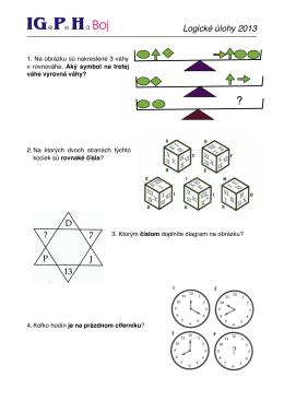 Logické úlohy