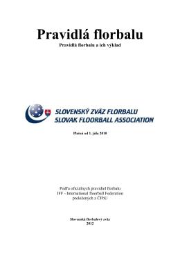 Pravidlá florbalu