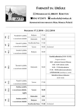 16.02.2014 - Obec Rokytov