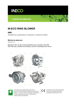 in-eco ring blower inw