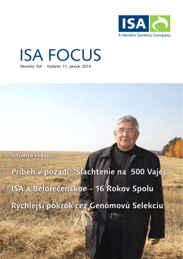 ISA FOCUS - ISApoultry