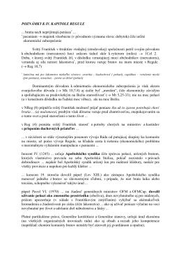 POZNÁMKY K IV