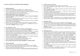 Návod na obsluhu trezorov EURON a EURON 110