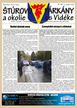2011/05 - Mesto Štúrovo