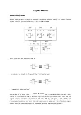Logické obvody