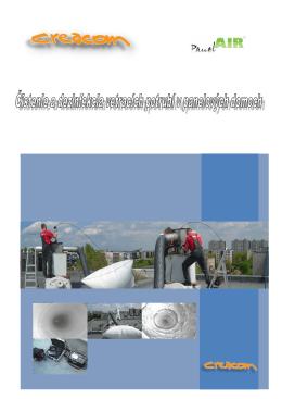 Realizujeme čistenie vetracích potrubí v panelových domoch