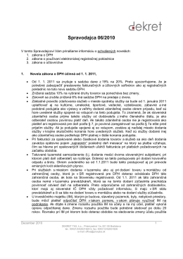 Spravodaj 06/2010