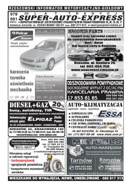 Wniosek o dopłatę do zakupu samochodu ratowniczo