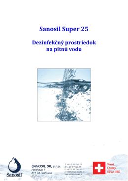 Sanosil Super 25