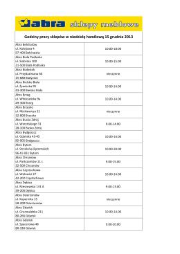 Informacja o tworzeniu komitetu wyborczego partii politycznej w