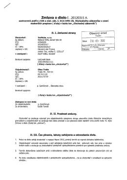 Zmluva o dielod. .20120315 A. - M-FiT