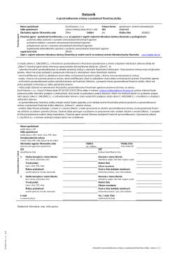 2014 PPZ PO - dotaznik k sprostredkovaniu - euro