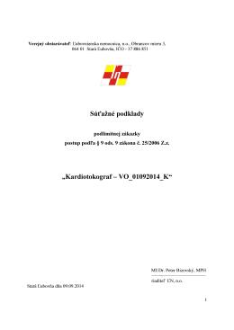 Kardiotokograf – VO_01092014_K