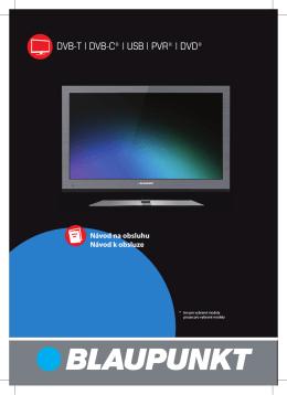 DVB-T | DVB-C* | USB | PVR* | DVD* - UMC