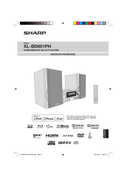 XL-BD601PH Operation-Manual SK