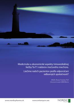 Medicínske a ekonomické aspekty Intravezikálnej liečby Ta