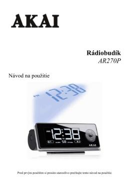 AR270P SK manual - dia