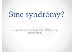104_Sine syndrom