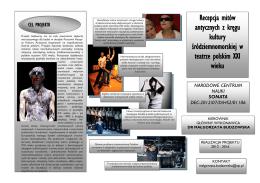 regulamin regionalnego konkursu wiedzy o teatrze