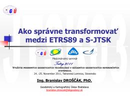 JTSK03 - Geodetický a kartografický ústav Bratislava