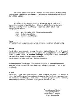 Uchwała zarządu - Urząd Dzielnicy Bielany