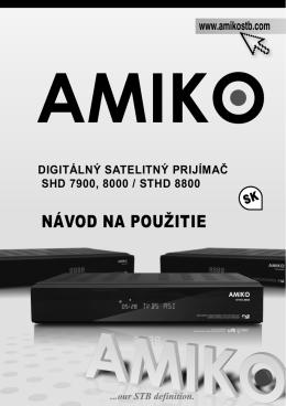 Amiko SHD 7900-8000