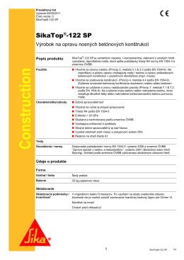 SikaTop 122 SP - Webstavba24.sk
