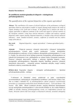 stiahni článok vo formáte pdf - Výskumný ústav ekonomiky