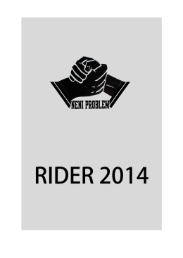 rider - neniproblem.sk