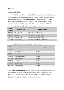 Kronika 2011 koncept