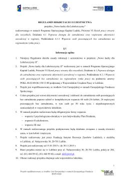 Statut Zespołu Szkół Szkoła Podstawowa im