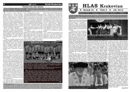 HLAS Krakovian - Obec Krakovany