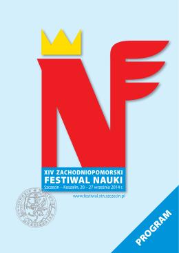 Program główny - Festiwal Nauki