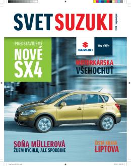 LIPTOVA - Suzuki Slovensko