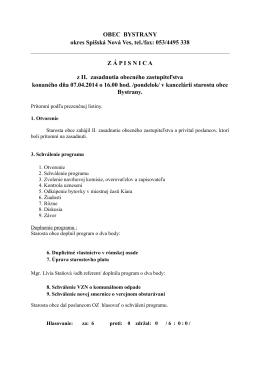 Ukážka - obecbystrany.sk