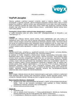 VeyFo® Jecuplex - VEYX - PHARMA spol. s r.o. Nitra